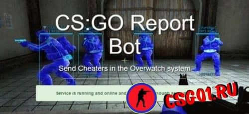 сообщить о боте CS GO
